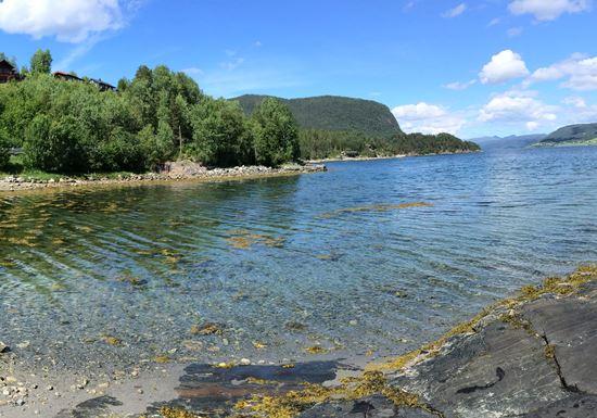 Bucht Sand Norwegen Romsdalfjord Rödvenfjord